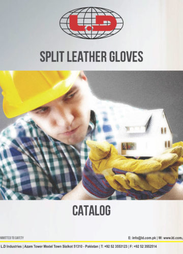 Split Leather Working Gloves