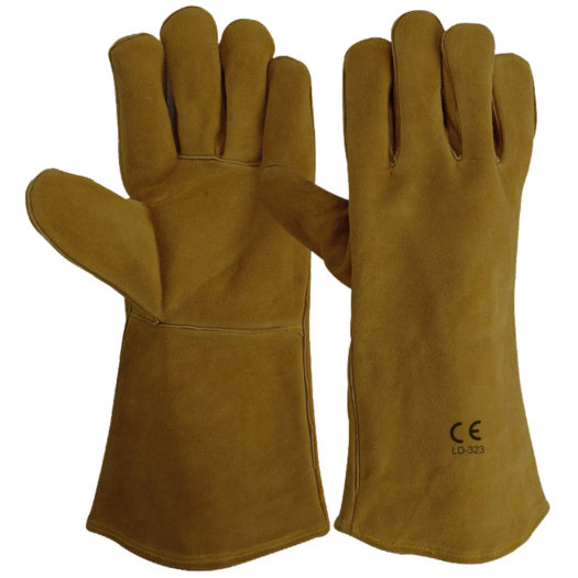 LD-323-GB Welding Gloves Golden Brown