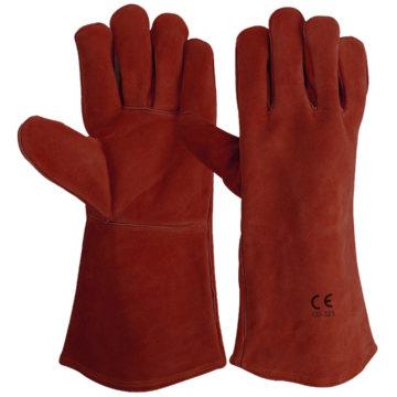 LD-323-R Welders Gloves Red