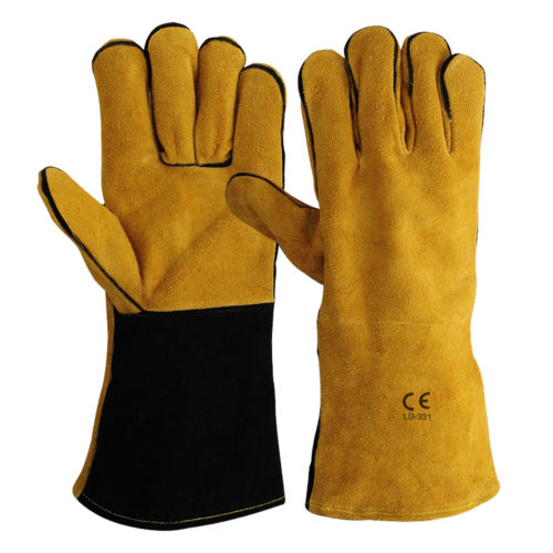 LD-331 Welding Gloves Brown