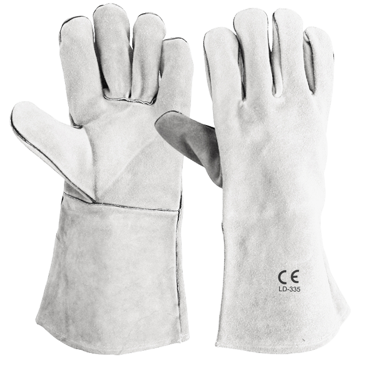 LD-335 Welding Gloves with Welted Seams