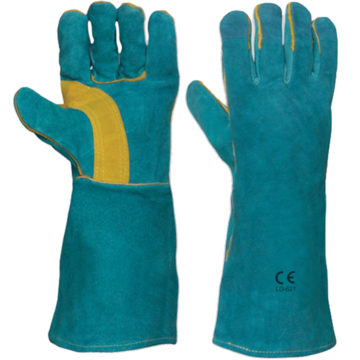 LD-621 Double Palm Leather Welding Gloves