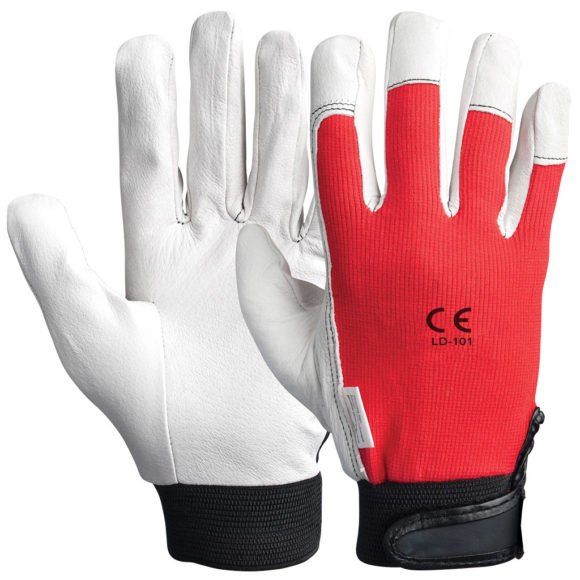 LD-102 Synthetic Leather Assembly Gloves