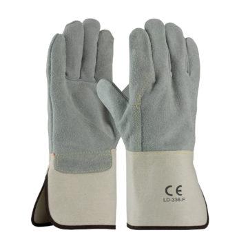LD-336-F Split Leather Gloves Full Back