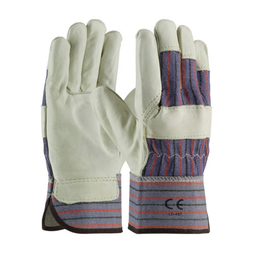 LD-437 Grain Leather work Gloves