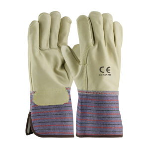 LD-437-FB Full Back Grain Leather Gloves