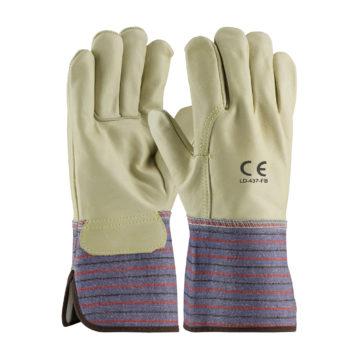 LD-437-FB Full Back Grain Leather Gloves